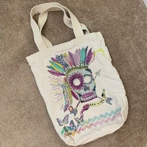 d4555148d4 Cost Plus World Market Bags - World Market Boho Skull Tote Bag⭐️